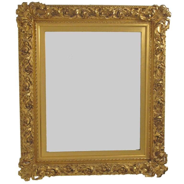 19th Century Gilt Mirror For Sale
