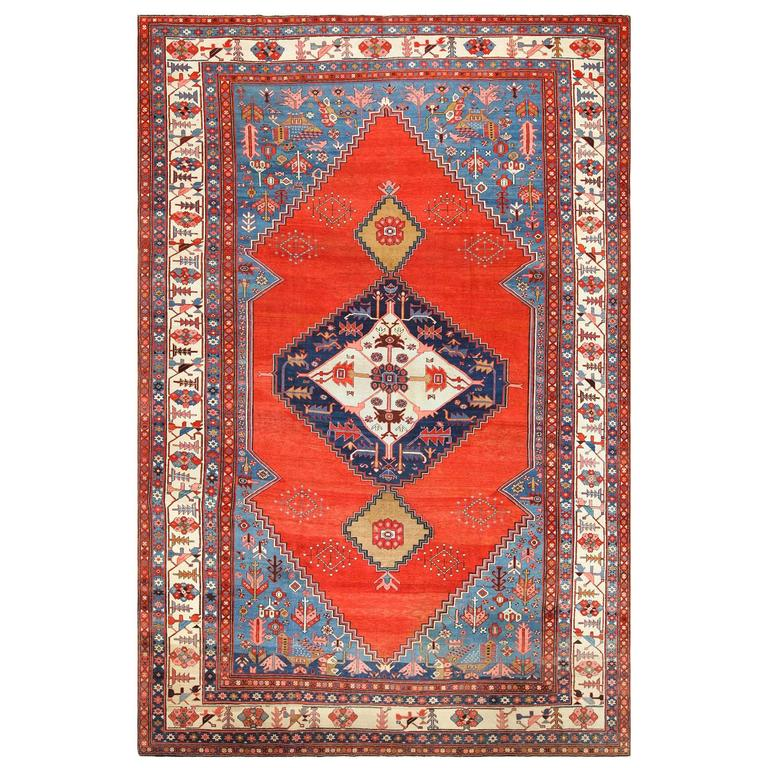 Persian Rugs For Sale: Breathtaking Antique Persian Bakshaish Rug For Sale At 1stdibs