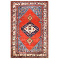 Breathtaking Antique Persian Bakshaish Rug