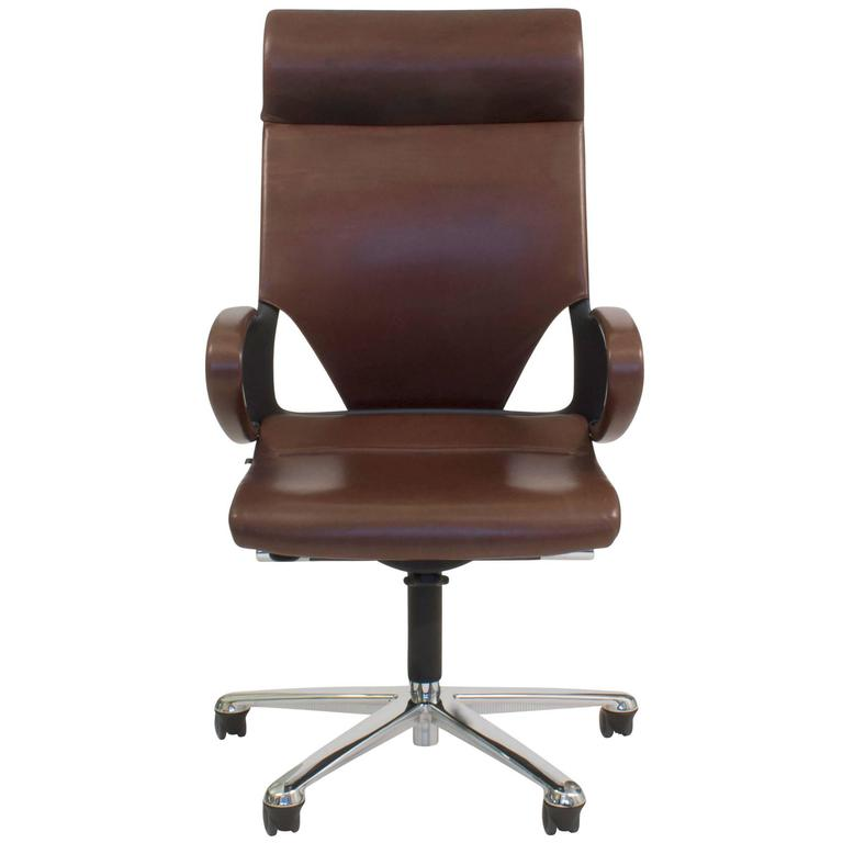 Klaus Frank & Werner Sauer for Wilkhahn Modus 284/7 executive office task chair, 21st century