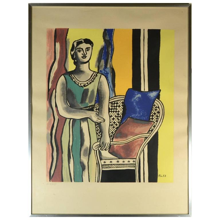 fernand léger le vase lithograph in colors for sale at 1stdibs