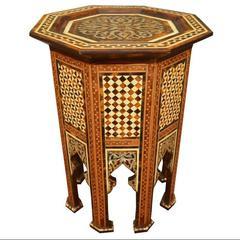 Moroccan Moorish Side Table