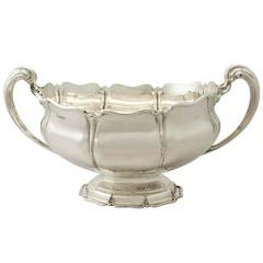 Antique Sterling Silver Presentation Bowl or Centrepiece