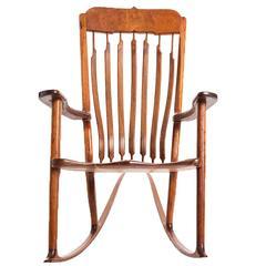 Custom-Made Rocking Chair