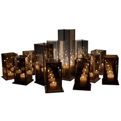 Kaleido, Original 12 Candleholders Set, Arturo Erbsman