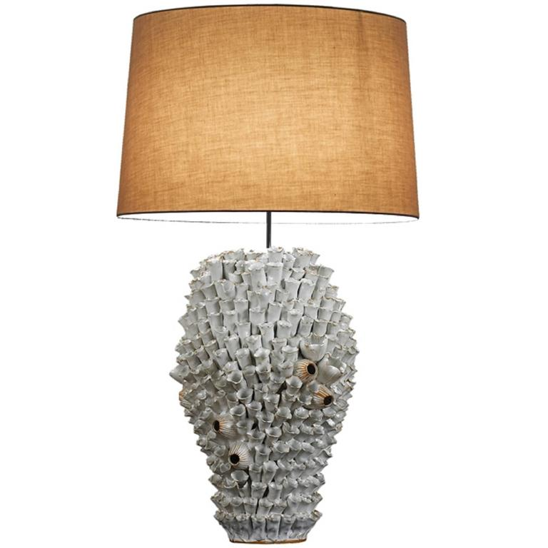 Handmade Ceramic Lamp 1