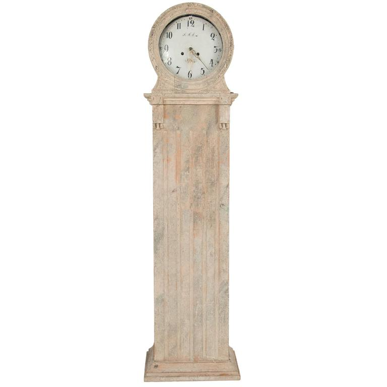 Gustavian Grandfather Clock 1