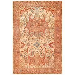 Beautiful Antique Persian Mishan Malayer Rug