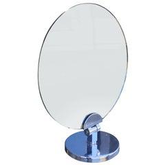 Charles Hollis Jones Swivel Vanity or Table Round Mirror