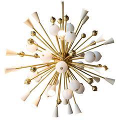 Handcrafted Murano Glass Sputnik Chandelier
