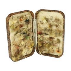 Vintage Hardy Neroda Fishing Fly Box