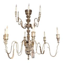 Large 18th Century Italian Twelve-Arm Chandelier