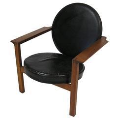 Danish Teak Easy Chair by Bent Moller Jepsen, circa 1961