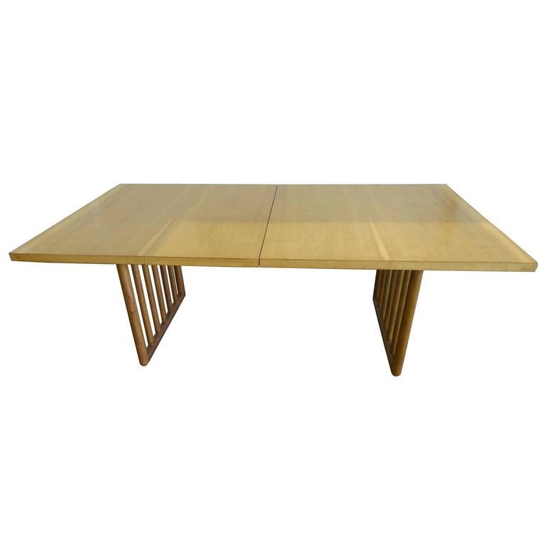 Midcentury Mahogany Dining Table by T.H. Robsjohn-Gibbings