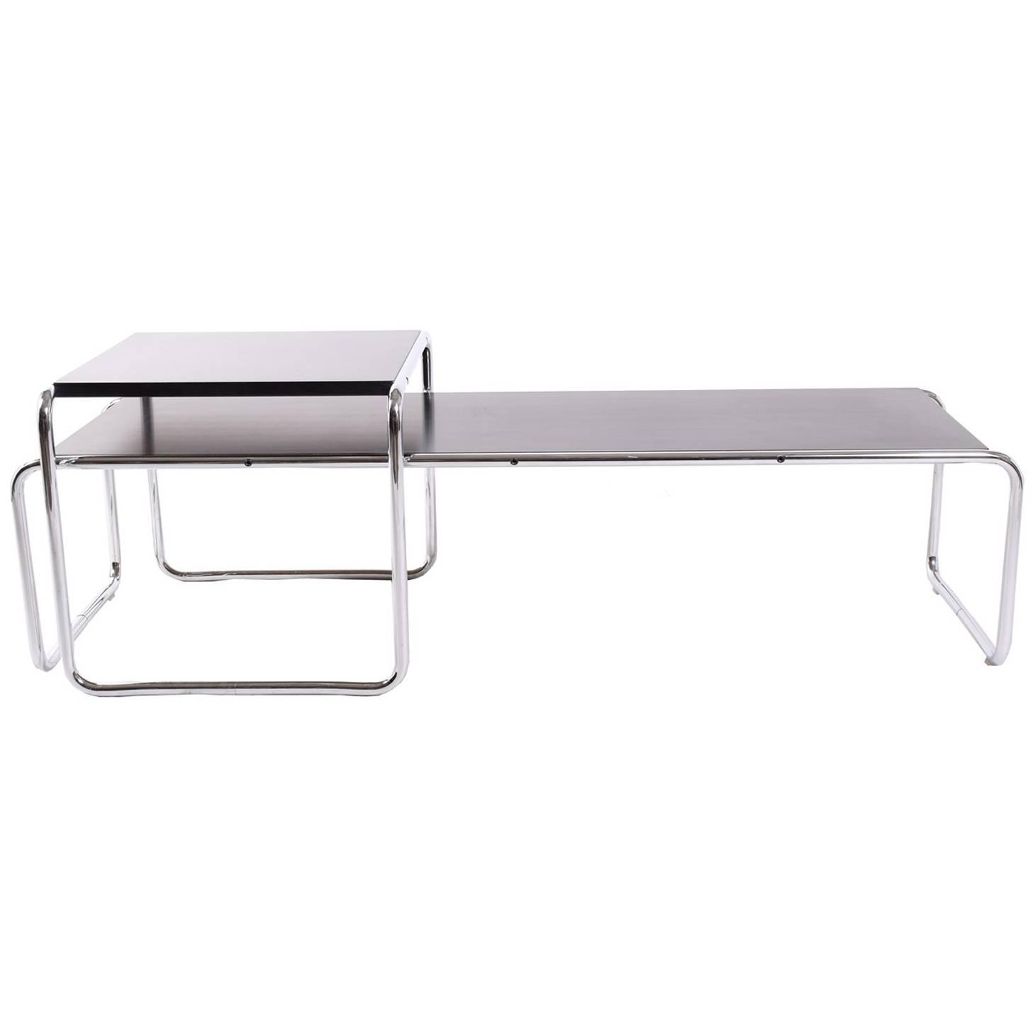 Laccio tables design marcel breuer 1925 for knoll at 1stdibs geotapseo Images
