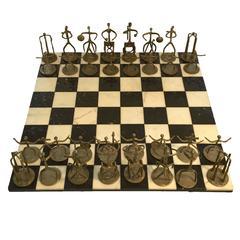 Brutalist Chess by Henry Burstynowicz