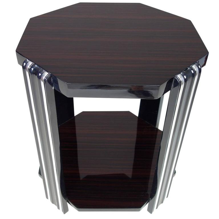Art Deco Style Side Table For Sale