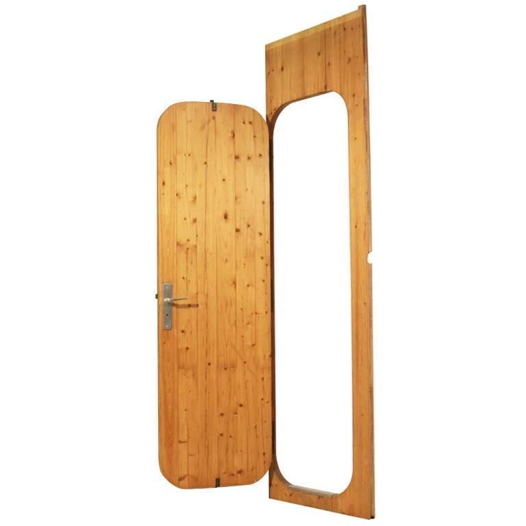 Charlotte Perriand Pine Door from Les Arcs Ski Resort France 1960s For Sale  sc 1 st  1stDibs & Charlotte Perriand Pine Door from Les Arcs Ski Resort France 1960s ...