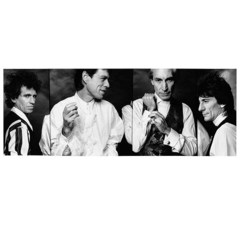 John Stoddart, The Rolling Stones, 1989, Signed by Stoddart, Print