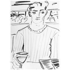 'Late Lunch' Original Artwork