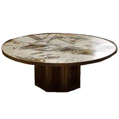 "Philip and Kelvin LaVerne ""Chan"" Table, circa 1960"