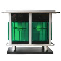 Bar Counter with Couple of Stools