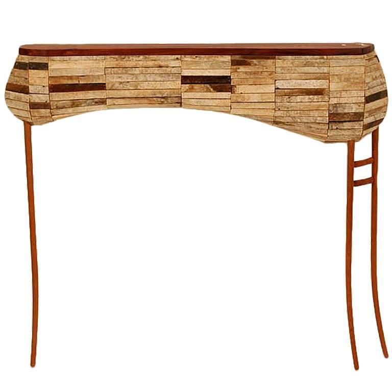 Studio Handcrafted Wall Mount Console Table Nick Allman 1