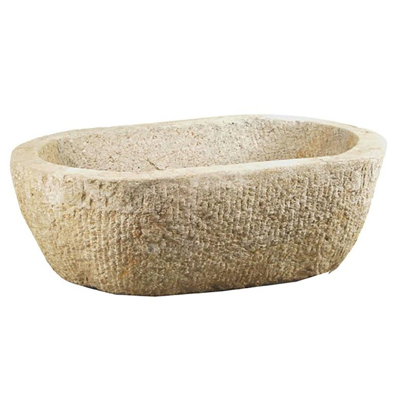 19th Century Chinese Stone Trough For Sale