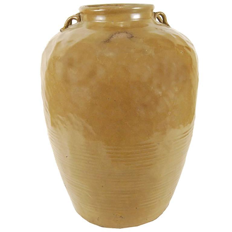 19th Century Chinese Stoneware Jar