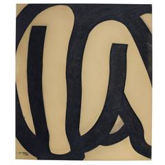 Jan Yoors, Charcoal Drawing I-1.2, USA, 1975