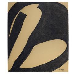Jan Yoors, Charcoal Drawing G-49.8, USA, 1975