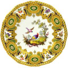 Royal Crown Derby Cabinet Plate by Desire Leroy