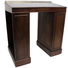 English Mahogany Ship's Desk