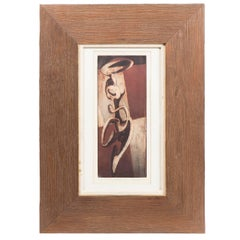 "Thomas Lias ""Portrait of Josephine"" Framed Etching"
