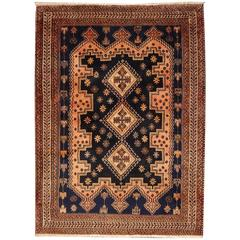 Afshar Tribal Vintage Persian Rug