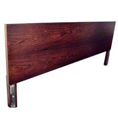 George Nelson for Herman Miller Rosewood Thin Edge King Headboard