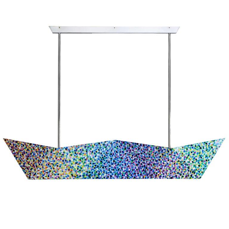 """Ceiling lamp """"Deriva di Proust"""", Alessandro Mendini for Fragile Edizioni, 2015 For Sale"""