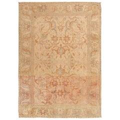 Beautiful 17th Century Silk Persian Polonaise Rug