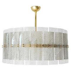 Murano Dual Layer Drum Chandelier