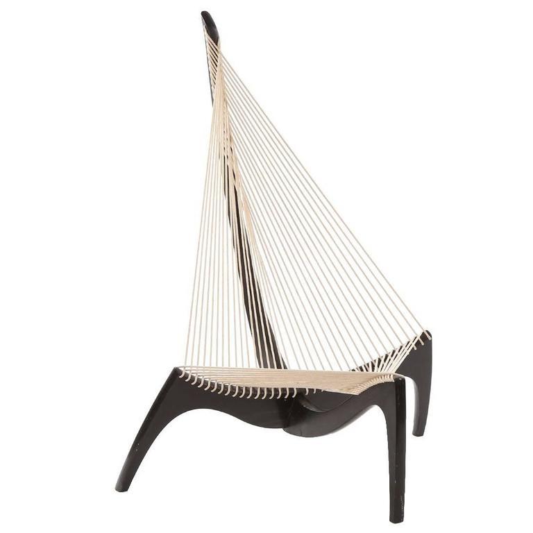 Early Jorgen Hovelskov Harp Chair