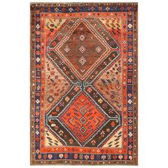 Beautiful Antique Persian Tribal Rug