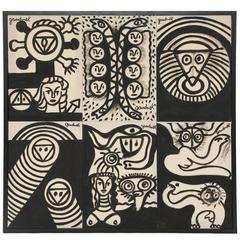 Walter Gaudnek Graphic Paintings