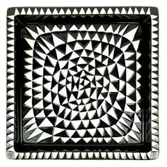 """Stig Lindberg Ceramic Tray """"Domino"""" by Gustavsberg in Sweden"""