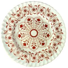 Royal Crown Derby Porcelain Rougement Dinner Plates, Set of 16