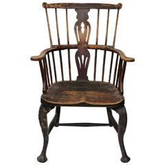 English Mid-18th Century George III 'Thames Valley' Windsor Chair, circa 1760
