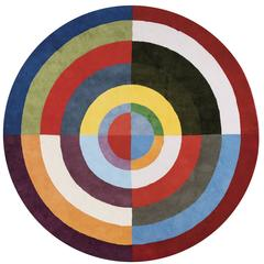 "Robert Delaunay ""Premier Disque"" Carpet, France"