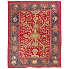 Antique Persian Ziegler Mahal Rug