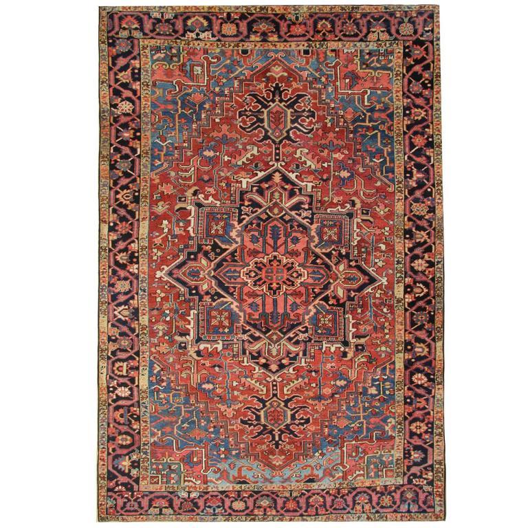 Antique Persian Rug from Heriz