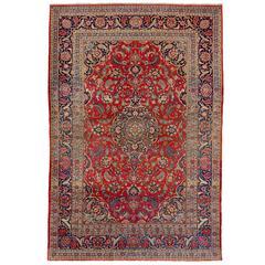 Fine Antique Persian Kashan Rug