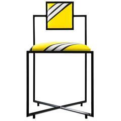 Capri Tria Giallo Iron Chair